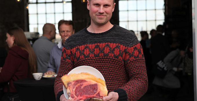 Markus Lindström med biffstock i klassen Exceptionell Råvara